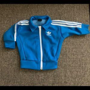 Adidas Blue Zip Track Jacket